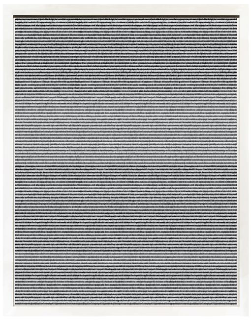 The World of Perception by Idris Khan contemporary artwork