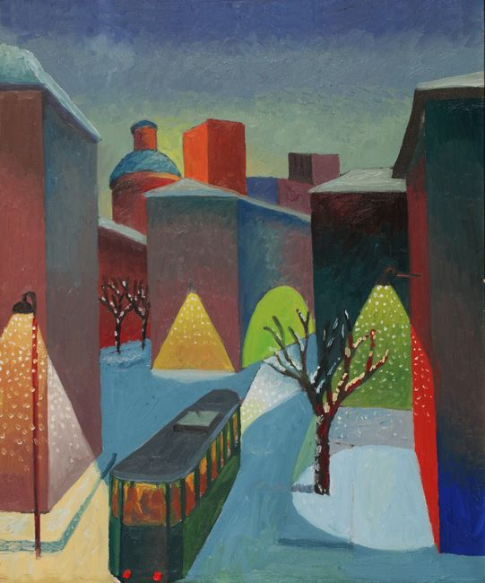 Snowfall by Salvo contemporary artwork