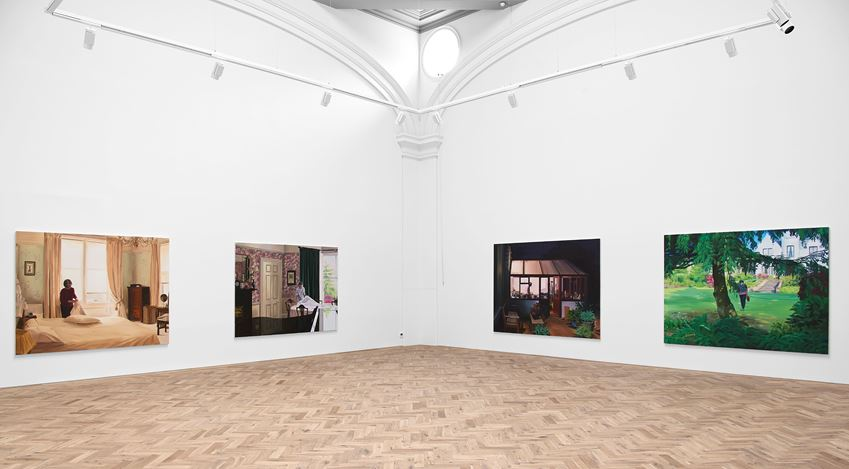 Exhibition view: Caroline Walker, Janet, Ingleby Gallery, Edinburgh (3 October–19 December 2020). Courtesy the Artist and Ingleby Gallery, Edinburgh. Photo: John McKenzie.