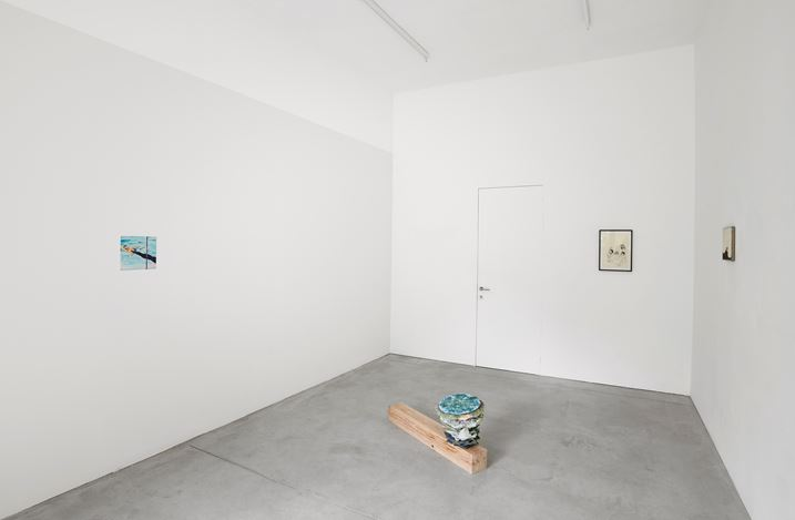 Exhibition view: Group Exhibition, Karma, Kristof De Clercq gallery, Ghent (24 June–29 July 2018). Courtesy Kristof De Clercq gallery.