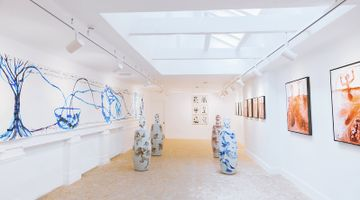 Contemporary art exhibition, Barthélémy Toguo, Human Nature at HdM GALLERY, London
