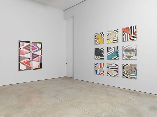 Exhibition view: Group Exhibition, All over the moon Curated by Jack Pierson, Cheim & Read, New York (12 July–30 August 2018). Courtesy Cheim & Read.