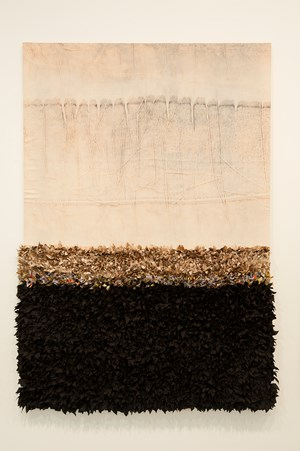 Les Horizons Complexes (de l'Amour et d'une romance) XI by Joël Andrianomearisoa contemporary artwork