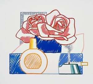 Scribble Version of Still Life #58 (Opaque) by Tom Wesselmann contemporary artwork