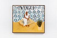 Tia Maria do Jongo (Vogue Brasil) by Elian Almeida contemporary artwork painting