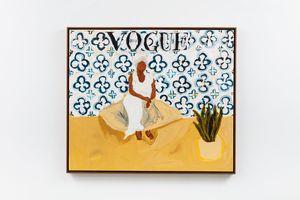 Tia Maria do Jongo (Vogue Brasil) by Elian Almeida contemporary artwork
