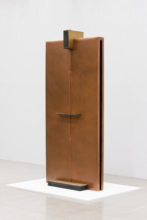 Bronze-Object-Age 97-12-Castle Gate by Tai-Jung Um contemporary artwork