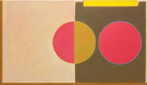 Untitled Diptych #1 by Helen Smith contemporary artwork
