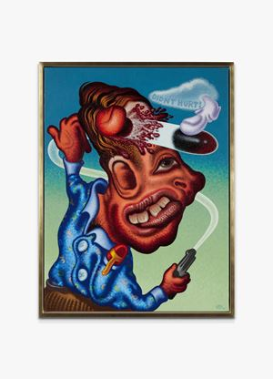 Didn't Hurt by Peter Saul contemporary artwork