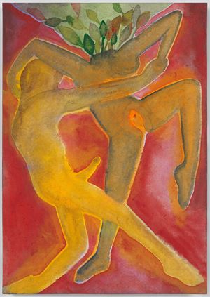 A Story Well Told XXI by Francesco Clemente contemporary artwork