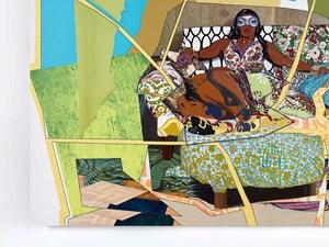 I'm Feelin Good by Mickalene Thomas contemporary artwork