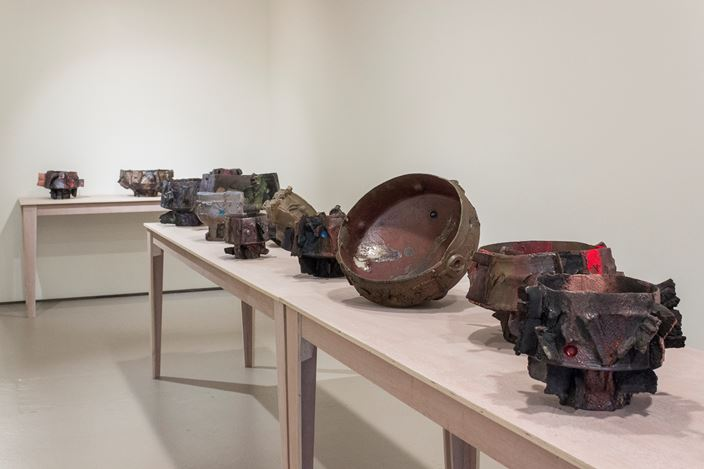 Exhibition view: Tracy Keith, Whenua, Bartley + Company Art, Wellington (19 February–21 March 2020). Courtesy Bartley + Company Art.
