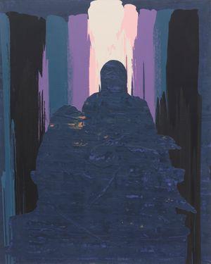 Pietà by Xu Qu contemporary artwork painting