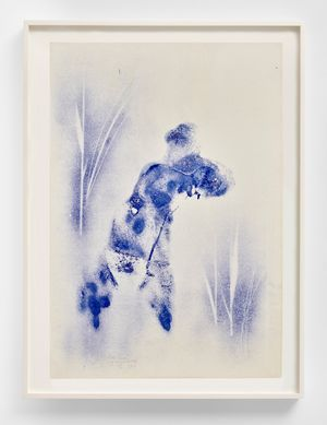Anthropométrie sans titre (ANT 162) by Yves Klein contemporary artwork