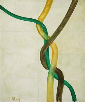 The Twine by Zhang Enli contemporary artwork