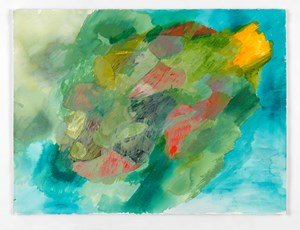 Untitled: Copse; 2017 by Phyllida Barlow contemporary artwork works on paper