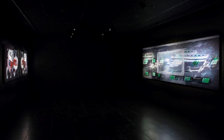 Exhibition view: Tishan Hsu, delete, Empty Gallery, Hong Kong (26 March–June 6 2019). Courtesy Empty Gallery. Photo: Michael Yu.