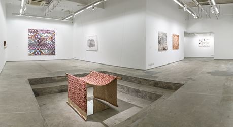 Exhibition view: Drawn from Practice, Experimenter (18 August–31 October 2018). Courtesy Experimenter.