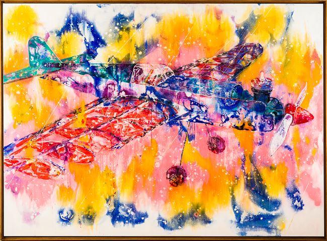 Spray and Rainbow 水花與彩虹 by Wang Liang-Yin contemporary artwork