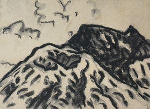 Batur Valcano by Lin Chuan-Chu contemporary artwork