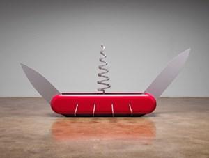 Knife Ship 1:12 by Coosje Van Bruggen and Claes Oldenburg contemporary artwork