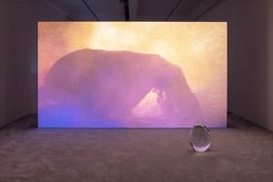 Wil-o-Wisp by Rachel Rose contemporary artwork installation