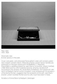 Apokryphen (Jean Paul, Besteckschatulle) by Ricarda Roggan contemporary artwork print