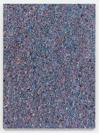 Leftover Paint Abstraction #4 (75 x 55) by Jonathan Horowitz contemporary artwork painting