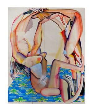 Held Up Thru Yew by Christina Quarles contemporary artwork