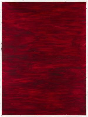 R&F Cadmium Red by Jenny Perlin contemporary artwork