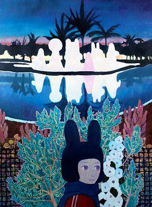 Friends by Tatsuhito Horikoshi contemporary artwork