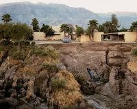 After a Flash Flood, Rancho Mirage, California by Joel Sternfeld contemporary artwork photography