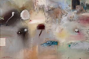 Untitled by Shakir Hassan Al Said contemporary artwork