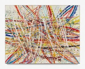 Untitled (Backcountry Capri 54.37) by Mark Grotjahn contemporary artwork