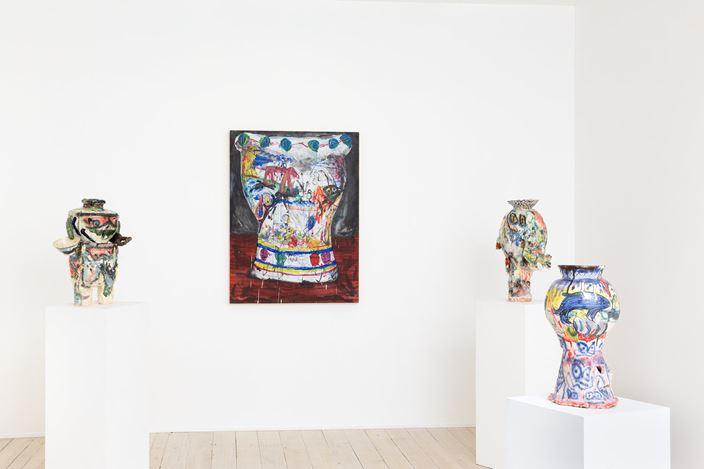 Exhibition view: Ryan Hancock, Harpooda, Gallery 9, Sydney (14 August–7 September 2019). Courtesy Gallery 9.