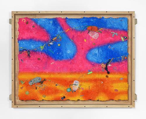 Pink Cloud by Ashley Bickerton contemporary artwork