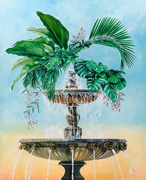 Fountain by Monika Behrens contemporary artwork