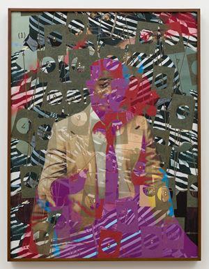 Figure by Jibade-Khalil Huffman contemporary artwork