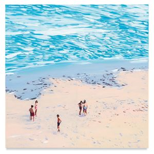 No Name (Beach) by Isca Greenfield-Sanders contemporary artwork