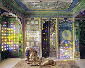 Finding Refuge, Junha Mahal Dungarpur by Karen Knorr contemporary artwork