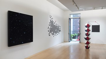 """Contemporary art exhibition, Angela Bulloch, """"…then nothing turned itself inside-out and became something"""" at Simon Lee Gallery, New York, USA"""