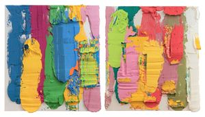 Splashed Rainbow by Zhu Jinshi contemporary artwork