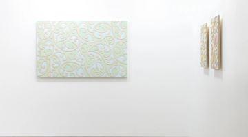 Contemporary art exhibition, Ngatai Taepa, Kia Āio Te Whenua at Page Galleries, Wellington, New Zealand