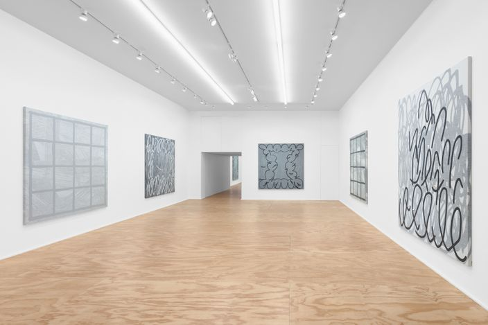 Exhibition view: Amy Feldman,Mothercolor, Eva Presenhuber, New York (10 September–23 October 2021). © Amy Feldman. Courtesy the artist and Galerie Eva Presenhuber, Zurich / New York.