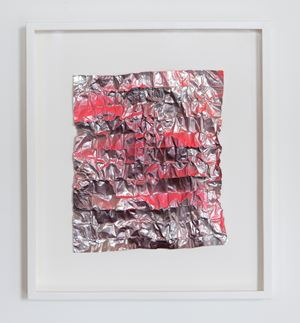 No. 933 Folded Grid by Rana Begum contemporary artwork