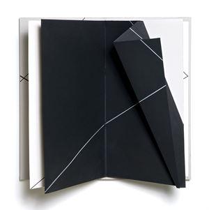 Extrapagina Extralibro Diagonale by Grazia Varisco contemporary artwork