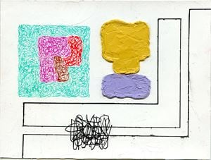 Untitled (S-219) by Jonathan Lasker contemporary artwork