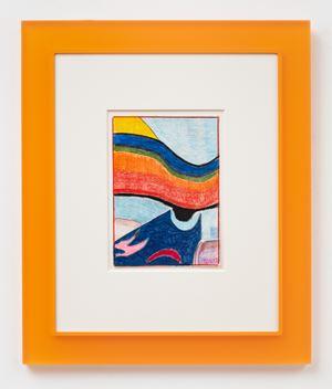 After Scriabin (Orange) by Matt Connors contemporary artwork