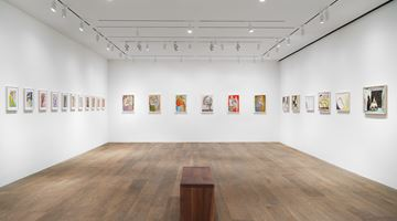 Contemporary art exhibition, Francesco Clemente, Watercolors at Lévy Gorvy, New York