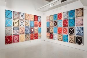 Circuit Breaker Paintings by Heman Chong contemporary artwork